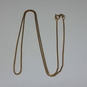 10K Solid Gold Box Chain